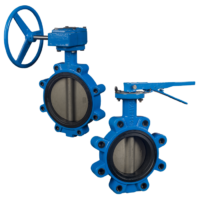 OS Series Wafer/Lug Butterfly Valves
